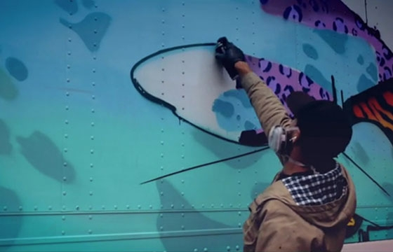 video: Obe and Amuse 126 Paint a Trailer