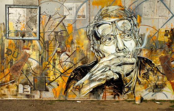 George Braque by C215