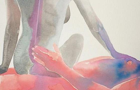 Juxtapoz Magazine - Erotic Watercolors by Tina Maria Elena
