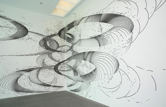 The Abstract Wall Murals of Gerhard Mayer