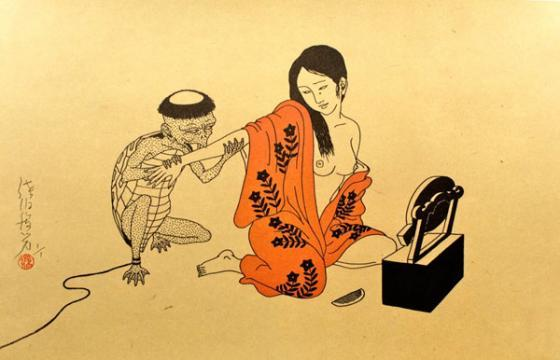 Toshio Saeki: Rare Works in the UK