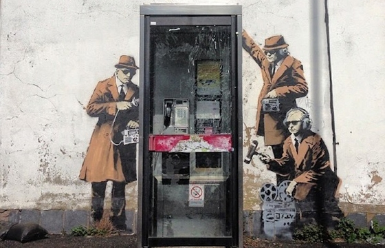 New Banksy Pieces in the UK