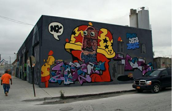 New wall from Flying Fortress, Nychos, Score, Most, and Chris Veng