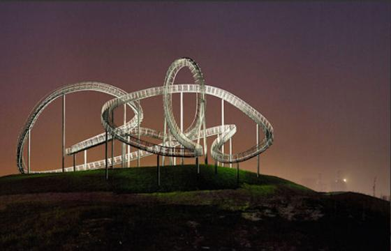 Tiger and Turtle- Magic Mountain Sculpture