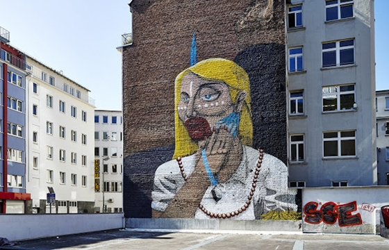 Nunca @ Street-Art Brazil in Frankfurt, Germany