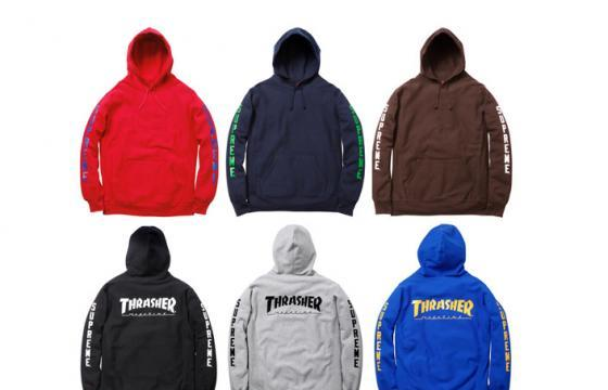 Thrasher Magazine x Supreme Collection