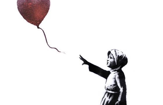 Banksy for the #WithSyria Campaign