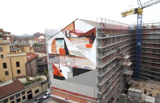 New Kofie Mural for the Picturin Torino Festival