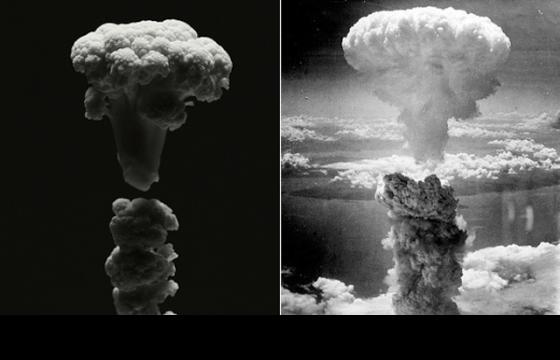Famous Explosions Recreated with Cauliflower