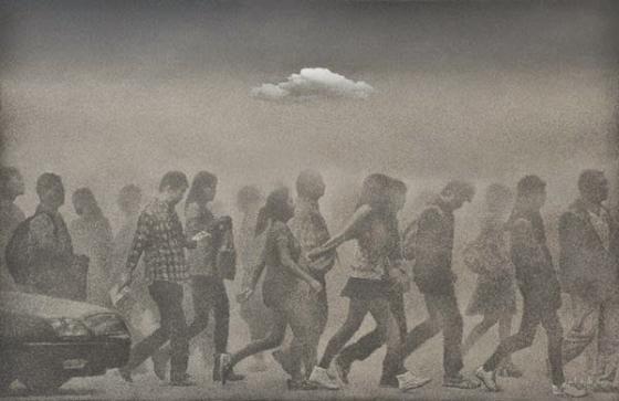 Paintings by Zhu Yiyong