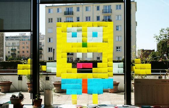 Post-It Wars Continue in France
