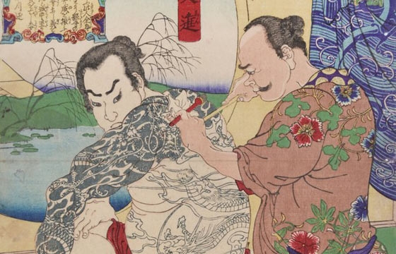 Taboo: Ukiyo-e & the Japanese Tattoo Tradition