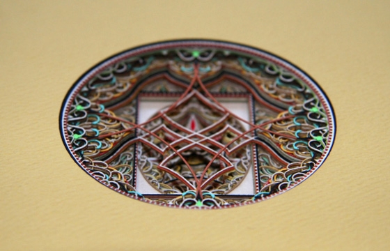 Paper Sculptures by Eric Standley