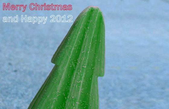 A Christmas Tree Popsicle by Gianni Zanin