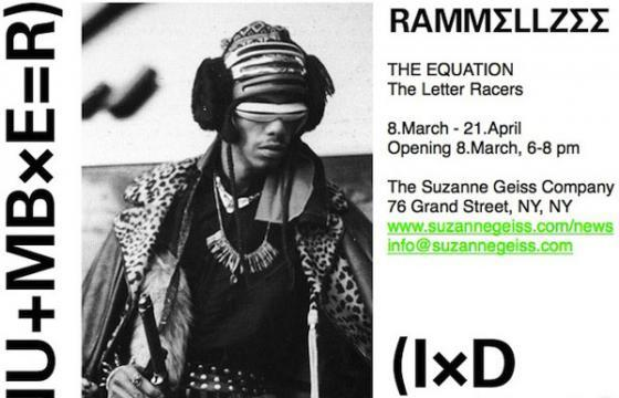 Rammellzee @ The Suzanne Geiss Company