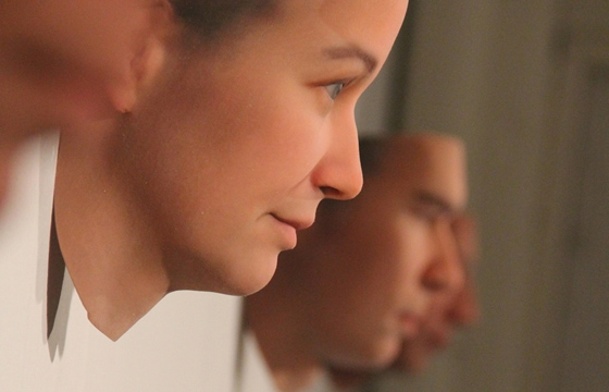 3D Printed Faces From Found DNA
