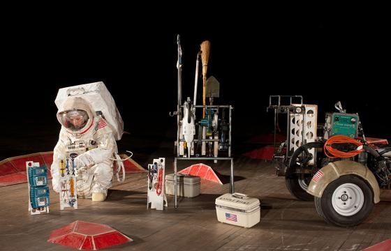 "Tom Sachs ""SPACE PROGRAM: MARS"" @ Park Avenue Armory, NYC"