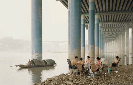 """Yangtze, The Long River"" by Nadav Kander"