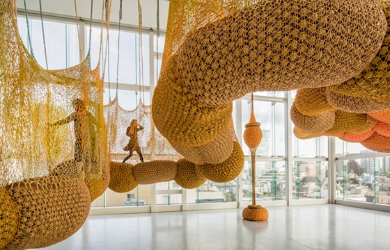 Interactive Installations by Ernesto Neto