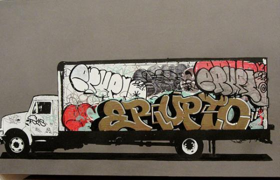 Erupto Canvas Truckin