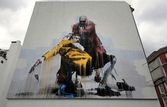New Murals by Conor Harrington, ROA, Borondo, DALeast, Maya Hayuk and HuskMitNavn
