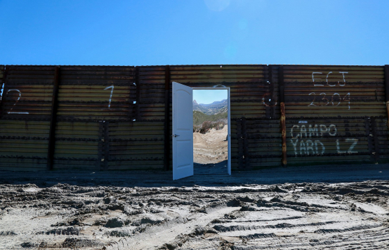 Icy & Sot's Poetic Critique Of Walls and Borders