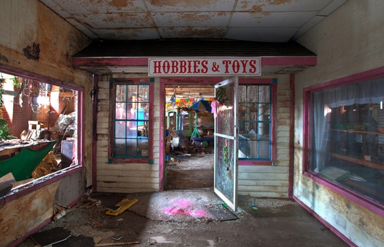Photographs of Abandoned Toy Factories