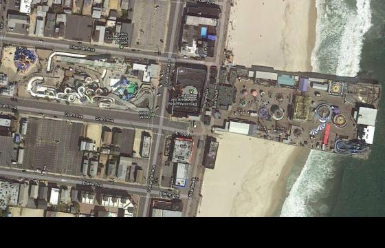 An Aerial Before and After Hurricane Sandy