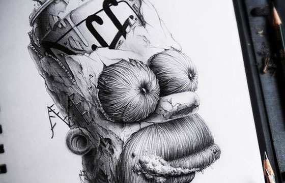 The Illustration Work of Pez