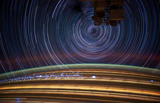 Star Trail Photos by Astronaut Don Pettit
