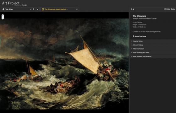 The Evolution of Viewing Art: Google Art Project