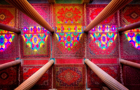 Kaleidoscope Views of the Middle East's Mosques