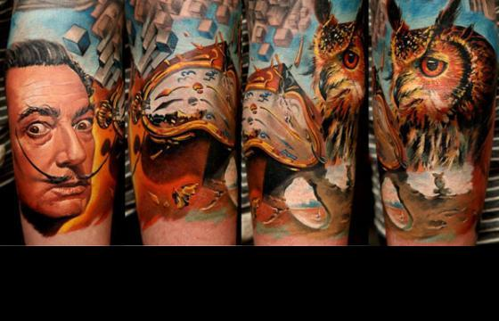 The Tattoo work of Dmitriy Samohin