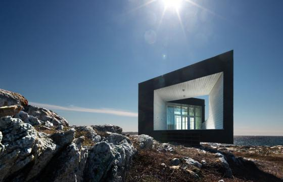 The Fogo Island Studios in Newfoundland, Canada
