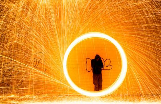 Light Paintings by Simon Berger