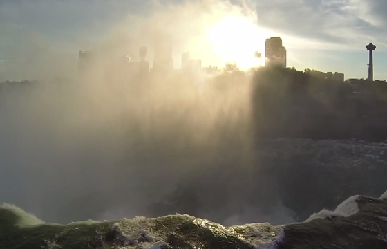 Niagara Falls... as seen through the lens of a DJI Phantom quadcopter