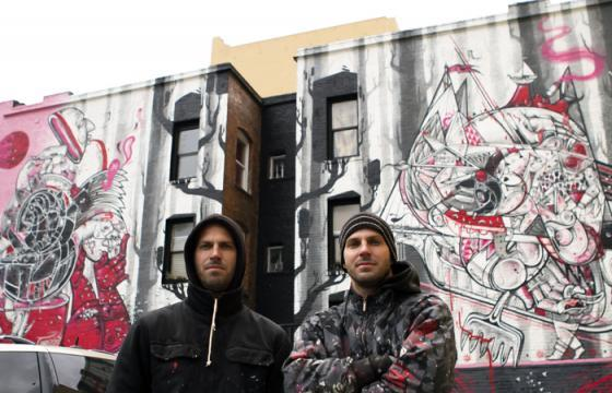 How Nosm: Giant Mural in San Francisco's Tenderloin