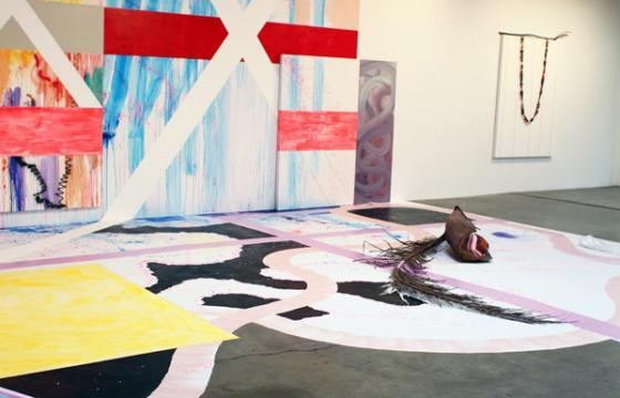 "IN L.A.: Sarah Cain ""Freedom is a Prime Number"" @ Honor Fraser"