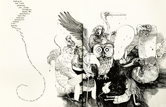 Alice in Wonderland Illustrated by Ralph Steadman