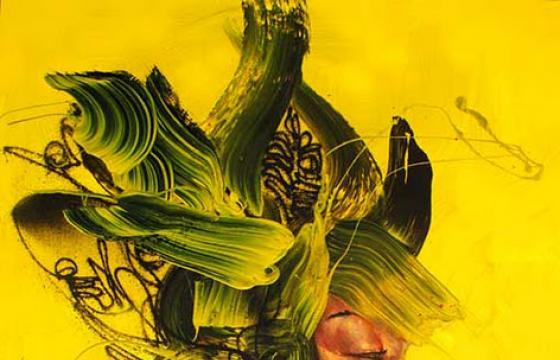 "David Choe ""Yellow Armour"" Special 11.11.11 Print Release"