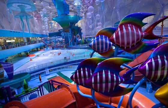 Happy Magic Water Cube, a Waterpark in Beijing
