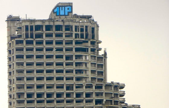 1up crew abandoned skyscraper