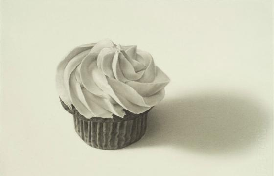 Cupcake and Candy Wrapper Paintings by Anselmo Swan