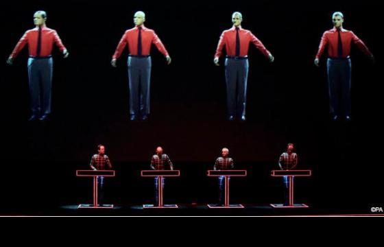 Kraftwerk Performs @ Tate Modern, London