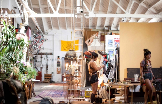 Studio Visit: Monica Canilao in Oakland, California