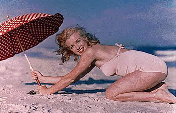 Andre de Dienes: Marilyn Monroe throughout the years