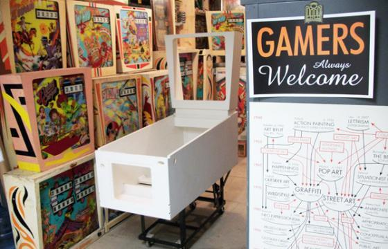 Kickstarter: Custom Pinball Machine Art Show