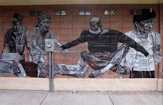 New Other mural in Sheboygan, Wisconsin