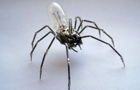 A Mechanical Mind's Tiny Steampunk Insects