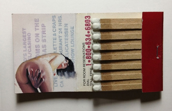 Joseph Martinez: New Matchbook Paintings